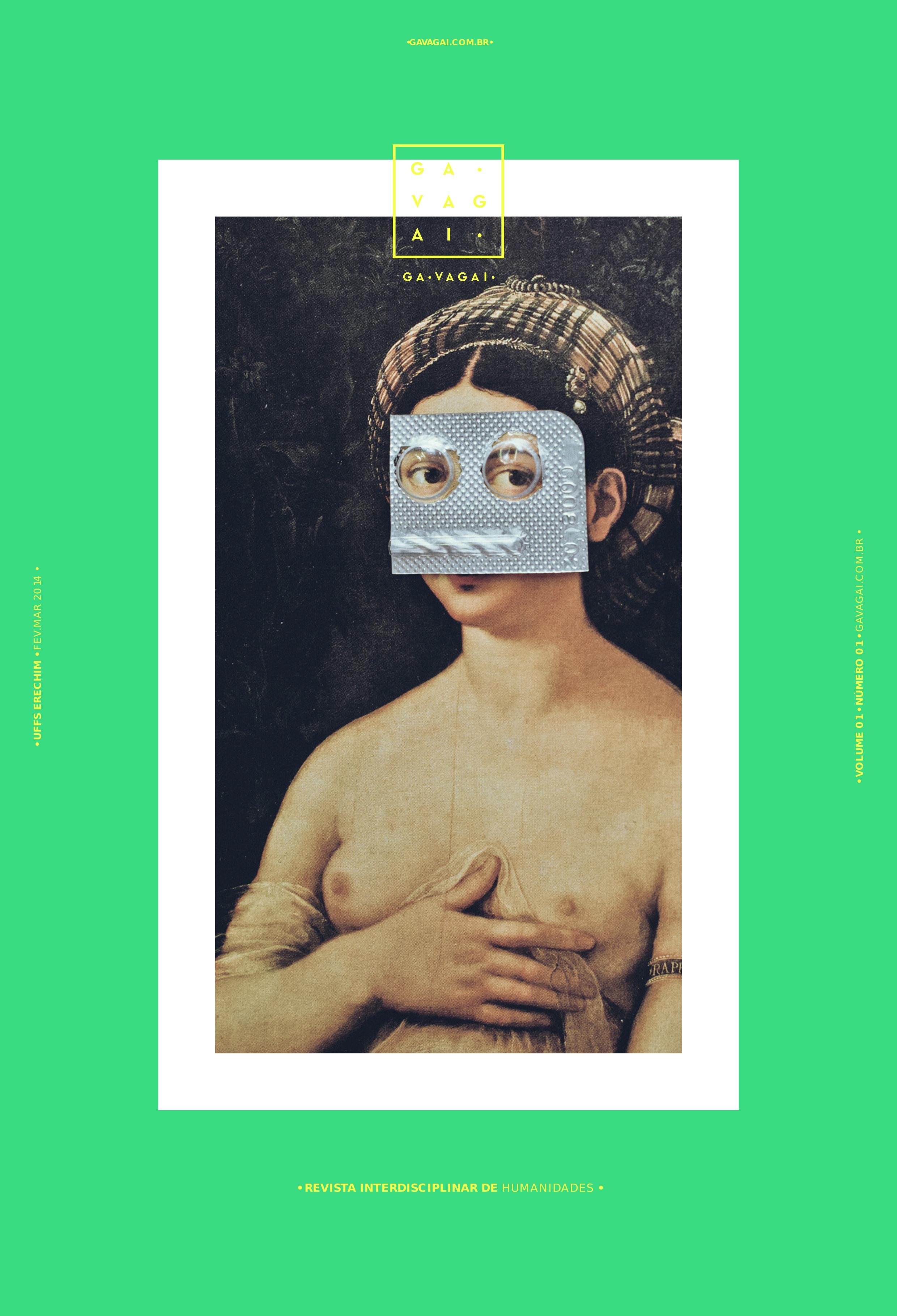 Capa da Revista Gavagai volume 1 número 1